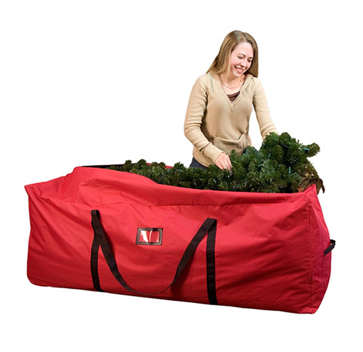 59 extra large christmas tree storage bag fits 6 9 39 artificial trees ebay. Black Bedroom Furniture Sets. Home Design Ideas