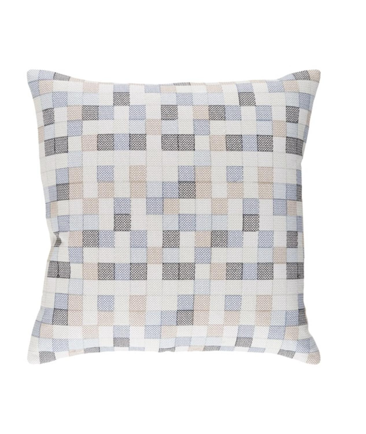 Steel Blue Throw Pillows : 22