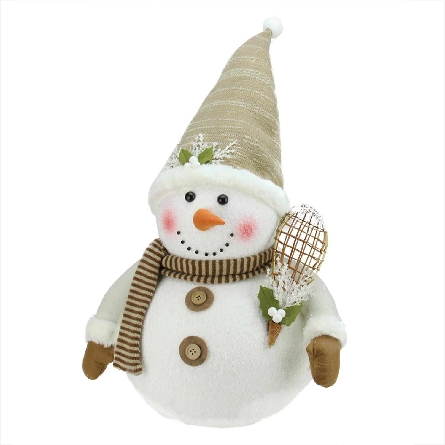''20'''' Snowman with Snow SHOES and Mistletoe Christmas Decoration''