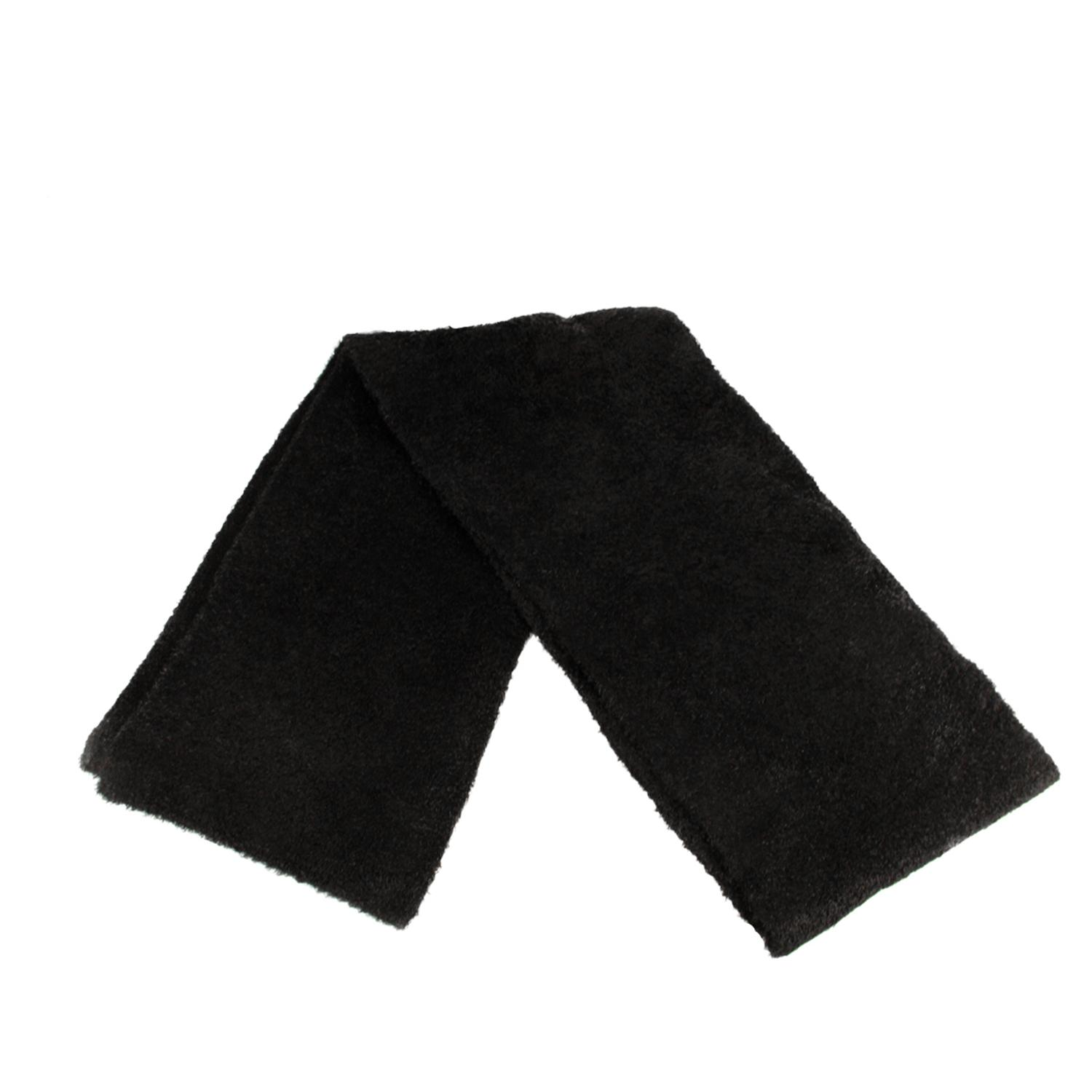 ''52'''' Women's Black Aloe Vera Plush Winter SCARF''