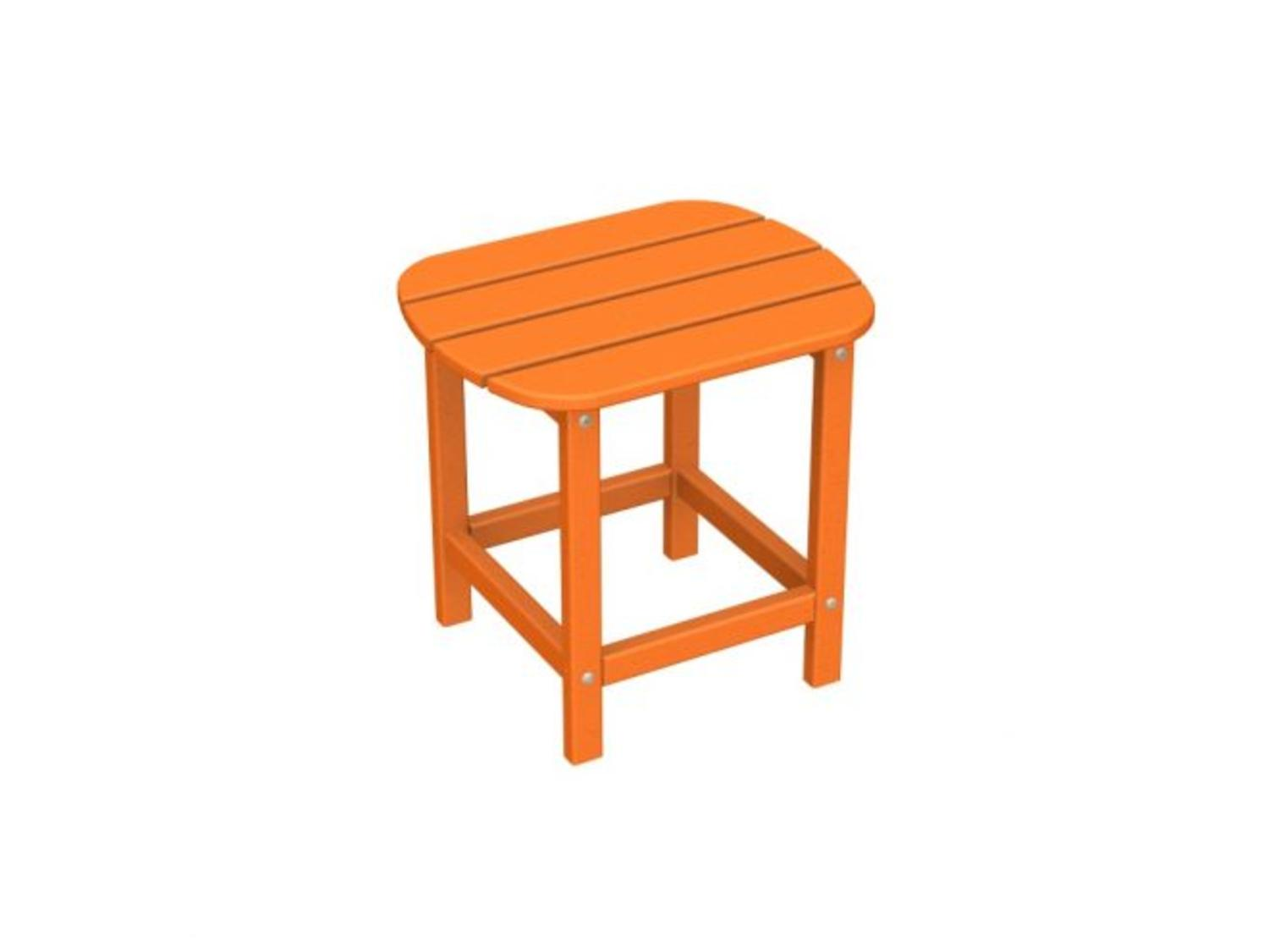 18 recycled earth friendly venice beach outdoor side for Orange outdoor side table