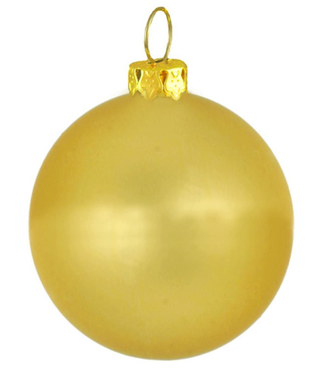 Matte indoor outdoor twilight gold commercial shatterproof for Outside christmas balls
