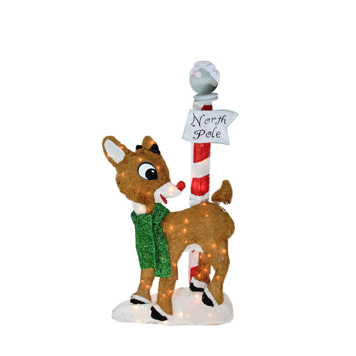 Product Works 32 2 D Rudolph Red Nosed Reindeer North Pole