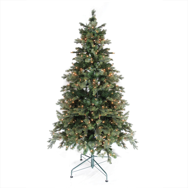 6u0027 Pre Lit Savannah Spruce Artificial Christmas Tree