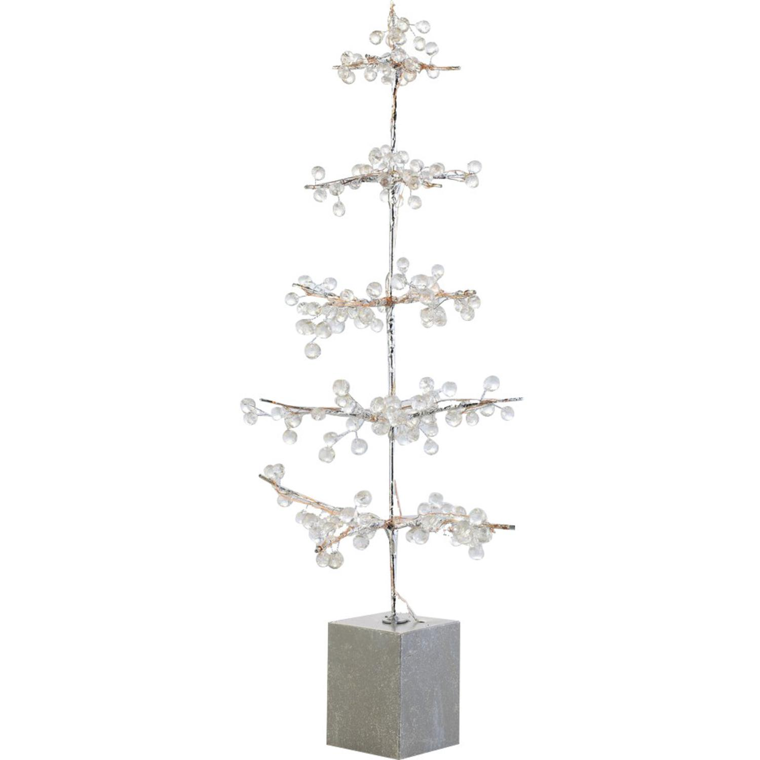 Napa Home Garden 2FT Potted Ice Bead Artificial Christmas Twig Tree ...
