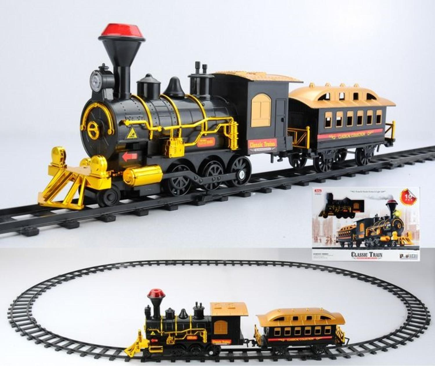 Target Toy Trains : New kids christmas classic train set with sound lighted