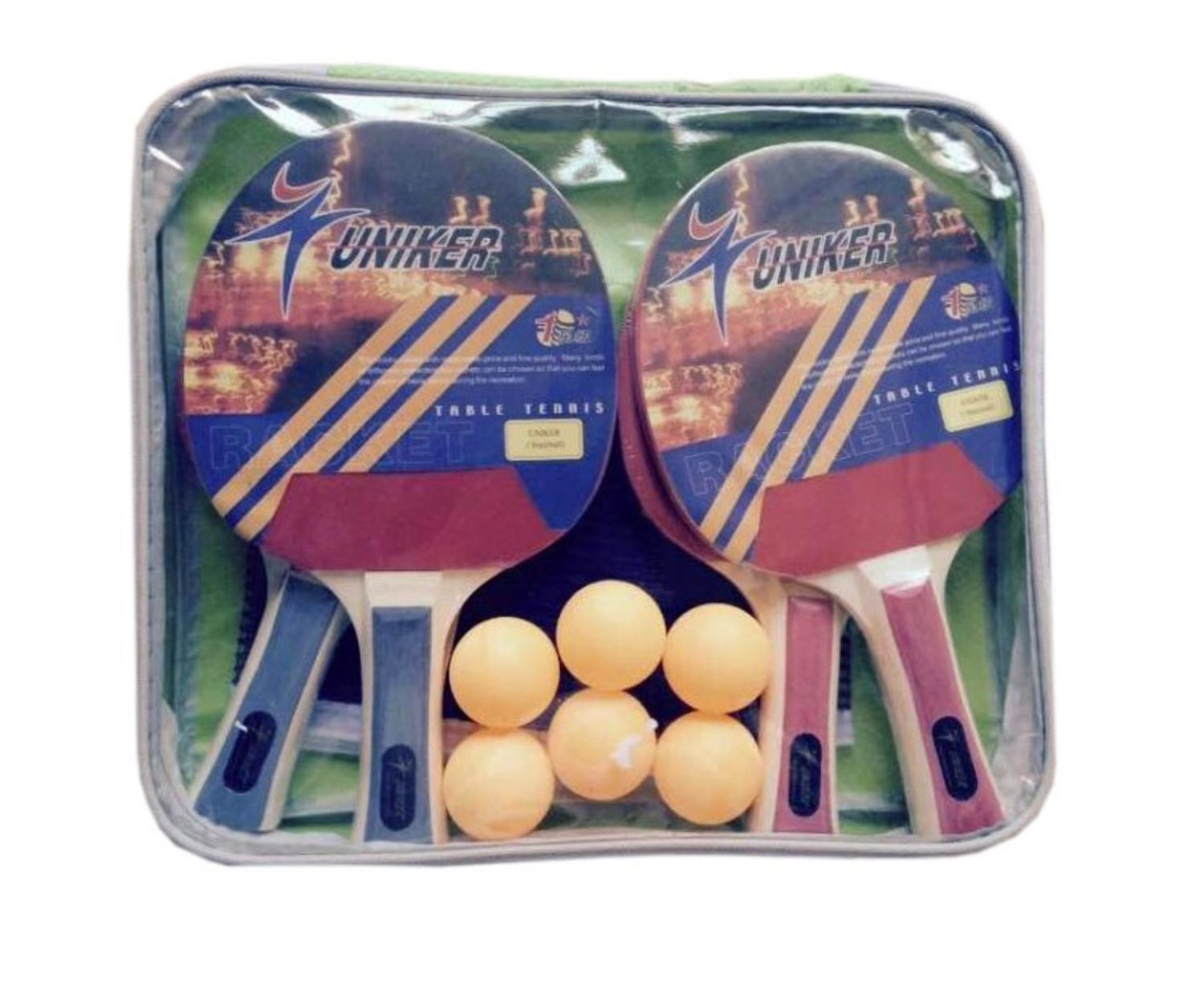 Recreational Table TENNIS Net  Paddles and BALLS Game Set